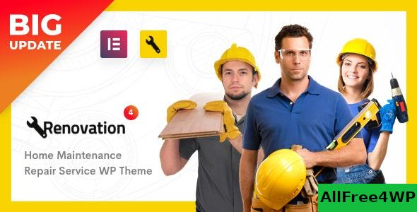 Nulled Renovation v4.1.6 – Repair Service, Home Maintenance Elementor WP Theme NULLED