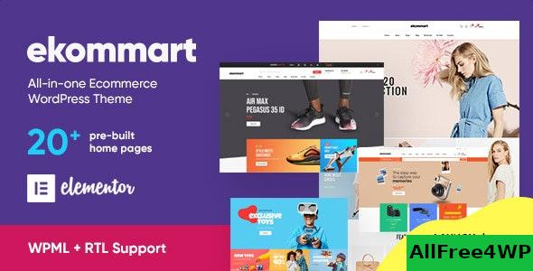 Nulled ekommart v1.9.3 – All-in-one eCommerce WordPress Theme NULLED