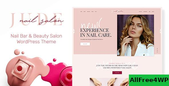 Nulled Jude v1.1.1 – Nail Bar & Beauty Salon WordPress Theme NULLED