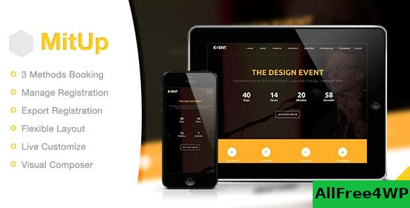 Nulled MitUp v1.1.9 – Event & Conference WordPress Theme NULLED
