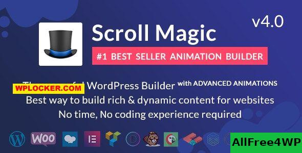 Scroll Magic v4.0.8 - Scrolling Animation Builder Plugin