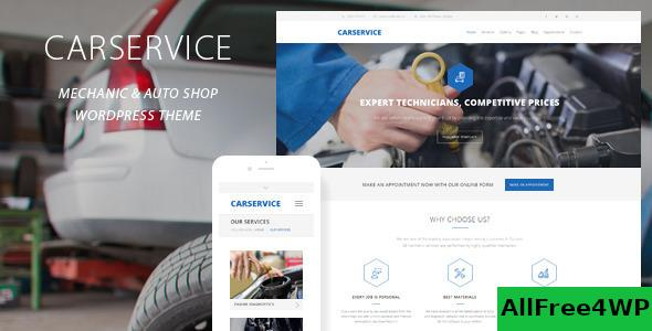 Nulled Car Service v6.0 – Mechanic Auto Shop WordPress Theme NULLED