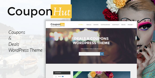 Nulled CouponHut v3.0.3 – Coupons and Deals WordPress Theme NULLED