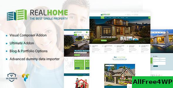 Nulled Single Property Theme v1.8 NULLED