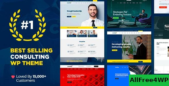 Nulled Consulting v5.1.7 – Business, Finance WordPress Theme NULLED