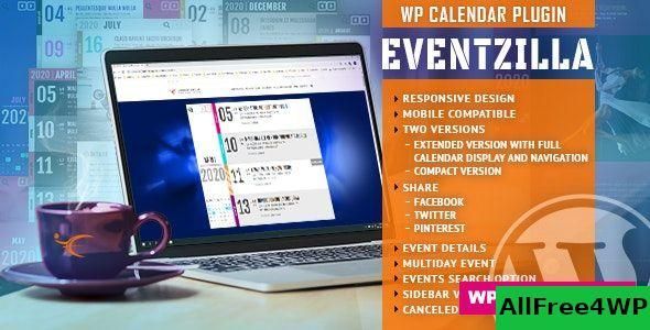 EventZilla v1.3.0 - Event Calendar WordPress Plugin