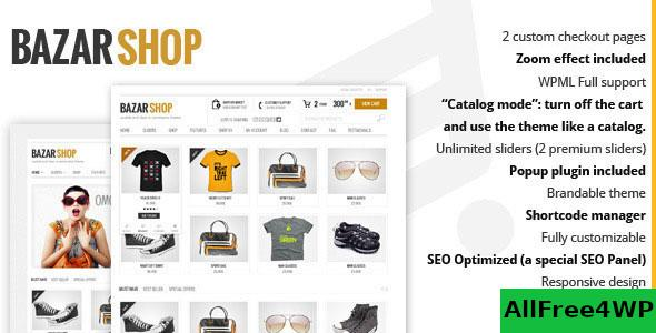 Nulled Bazar Shop v3.14.0 – Multi-Purpose e-Commerce Theme NULLED
