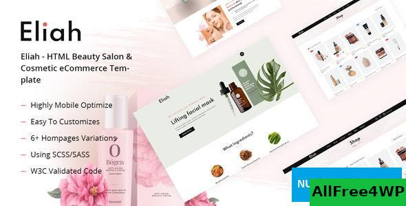 Edit Eliah v1.0 - HTML Beauty Salon & Cosmetic eCommerce Template