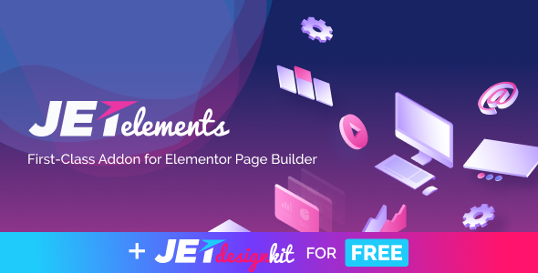 JetElements v2.4.1 - Addon for Elementor Page Builder