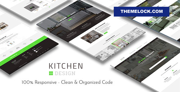 Nulled Kitchen v3.1.5 – Design Responsive WordPress Theme NULLED