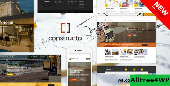 Nulled Constructo v4.1.6 – WP Construction Business Theme NULLED
