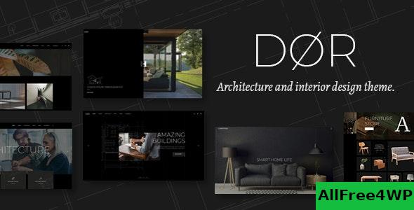 Nulled Dor v2.1 – Modern Architecture and Interior Design Theme NULLED