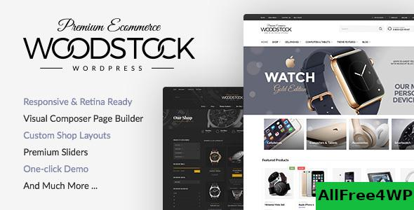 Nulled Woodstock v2.3 – Responsive WooCommerce Theme NULLED