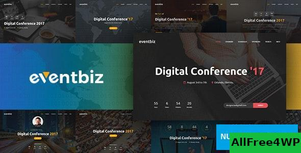 Eventbiz v1.3 - Event, Conference and Seminar Website Template