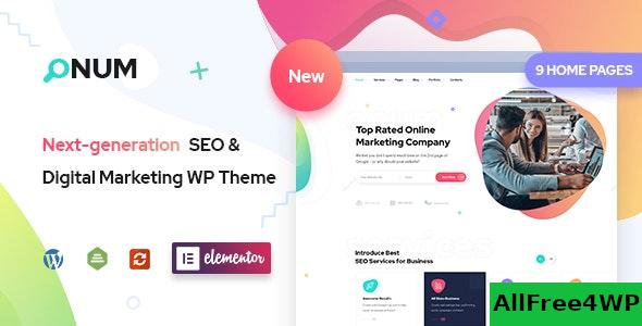 Nulled Onum v1.2.0.5 – SEO & Marketing Elementor WordPress Theme NULLED