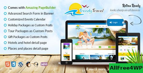 Nulled Trendy Travel v4.9 – Multipurpose Tour Package WP Theme NULLED
