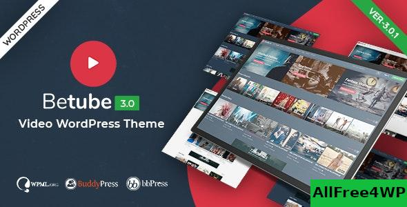 Nulled Betube v3.0.2 – Video WordPress Theme NULLED
