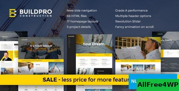 BuildPro v1.3 - Construction and Building Website Template