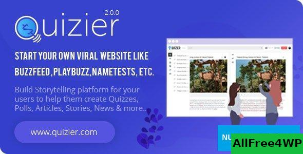 Quizier v2.0.0 - Multipurpose Viral Application