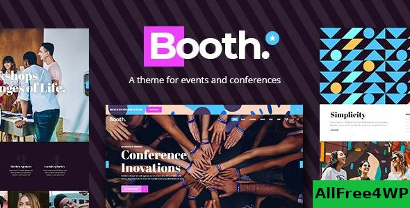 Nulled Booth v1.1.1 – Event and Conference Theme NULLED
