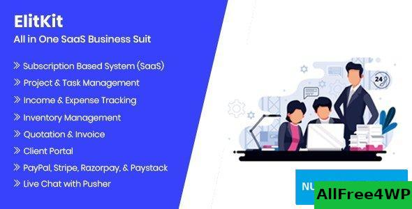 ElitKit v1.7 - All In One SaaS Business Suit