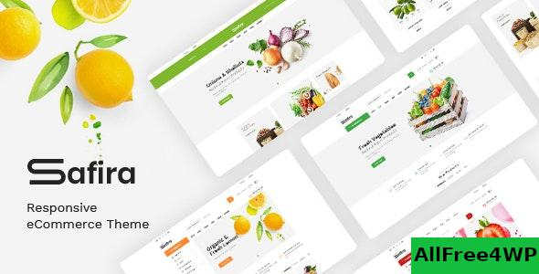 Nulled Safira v1.0.5 – Food & Organic WooCommerce WordPress Theme NULLED