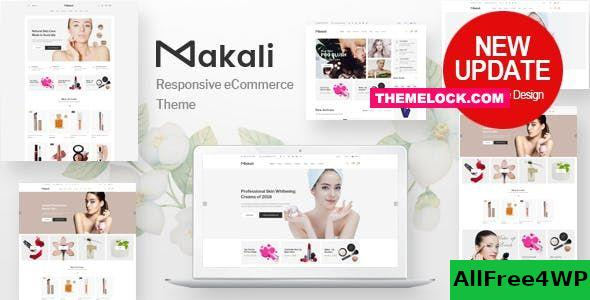 Nulled Makali v1.4.1 – Cosmetics & Beauty Theme NULLED