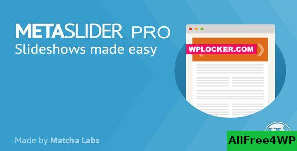 MetaSlider Pro v2.18.0 - WordPress Plugin