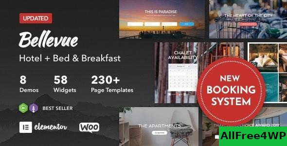 Nulled Bellevue v3.2.11 – Hotel + Bed and Breakfast Booking Calendar Theme NULLED
