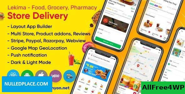 Lekima v2.2.0 - Store Delivery Full React Native Application for Wordpress WooCommerce