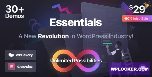 Essentials v1.1.5 - Multipurpose WordPress Theme