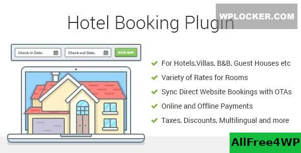 Hotel Booking v3.8.7 - Property Rental WordPress Plugin
