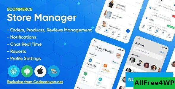 Store Manager v1.2.0 – React Native Application for WordPress Woocomerce