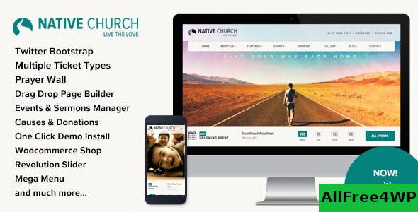 NativeChurch v3.5.2 - Multi Purpose Wordpress Theme