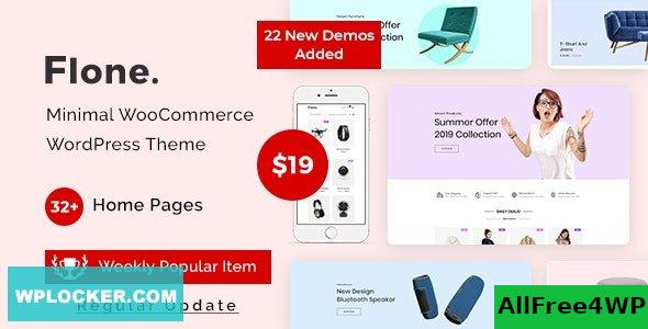 Flone v2.0.10 – Minimal WooCommerce WordPress Theme