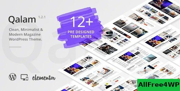 Qalam v1.5.0 - NewsPaper and Magazine WordPress Theme