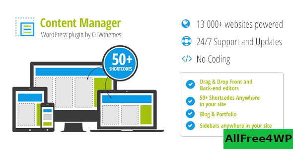 Content Manager for WordPress v2.18
