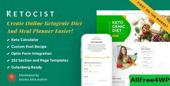 Ketocist v1.2.47 - Keto Diet WordPress Theme