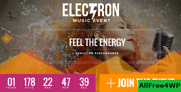 Electron v1.6.0 - Event Concert & Conference Theme