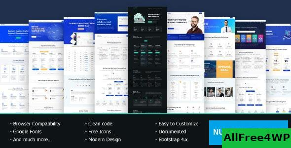 VRocket v1.5.2 – HTML5 Hosting Template