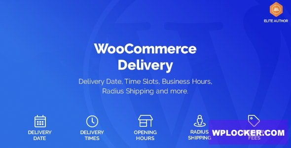 WooCommerce Delivery v1.1.9 - Delivery Date & Time Slots