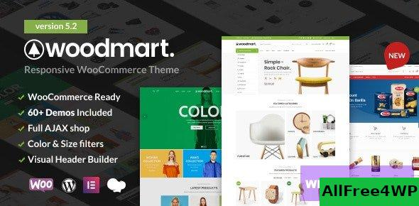 WoodMart v5.3.4 - Responsive WooCommerce Wordpress Theme