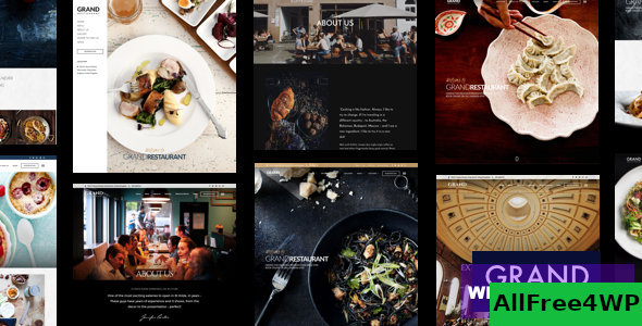 Grand Restaurant v5.9.3 - Restaurant Cafe Theme