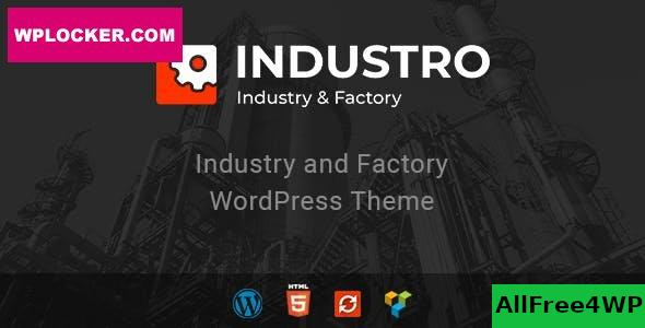 Industro v1.0.6.5 - Industry & Factory WordPress Theme