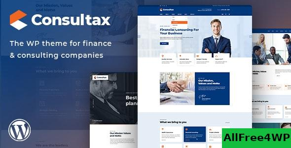 Download 🔝 Consultax v1.0.8 - Financial & Consulting WordPress Theme