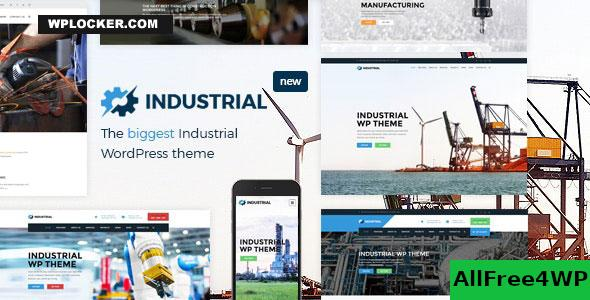 Industrial v1.6.0 - Factory Business WordPress Theme