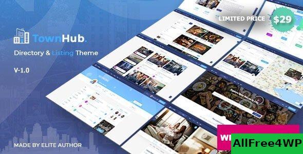 Download 🔝 TownHub v1.4.6 - Directory & Listing WordPress Theme