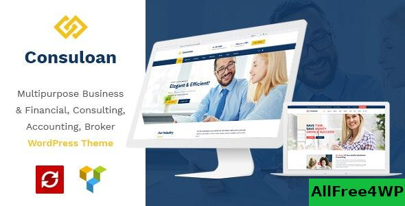 Consuloan v1.0.9 - Multipurpose Consulting WordPress Theme