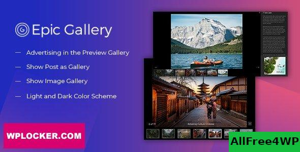 Epic Zoom Gallery v1.0.2 - WordPress Plugin & Add Ons for Elementor & WPBakery Page Builder