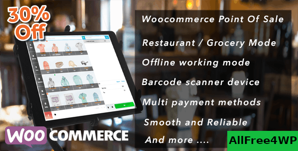 Openpos v4.6.6 - WooCommerce Point Of Sale (POS)